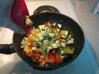 Add Zucchini.